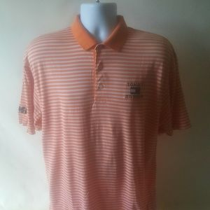 Tommy Hilfiger Orange polo striped shirt